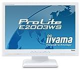 iiyama 20インチワイド液晶ディスプレイ ホワイト PLE2003WS-W1