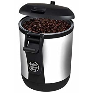 Bean Vac Battery Operated Vacuum Coffee Canister