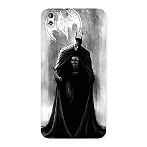 White Moon Knight Back Case Cover for HTC Desire 816