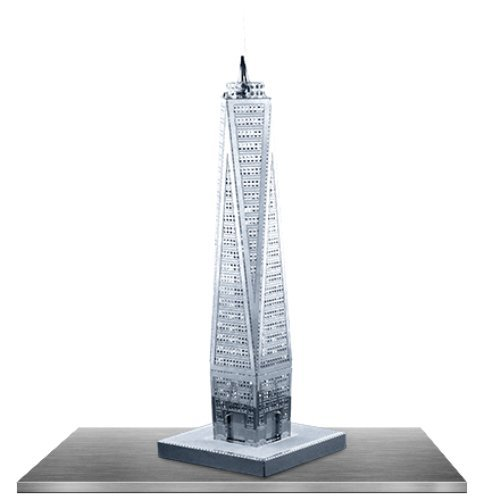 Fascinations Metal Earth 3D Metal Model - One World Trade Center