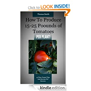 How To Produce 15-25 Pounds Of Tomatoes PER PLANT