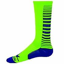 Red Lion Fury Athletic Socks ( Neon Green / Royal - Medium )