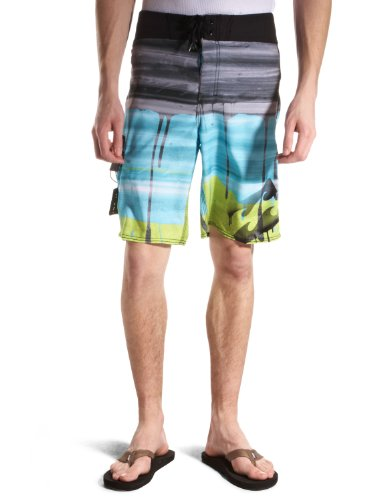Billabong Imperial Men's Swim Shorts Lime W33In