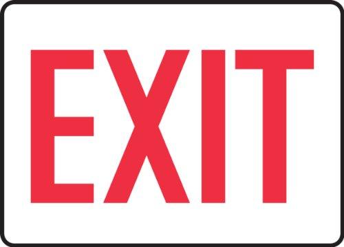 Accuform Signs, Exit, 7