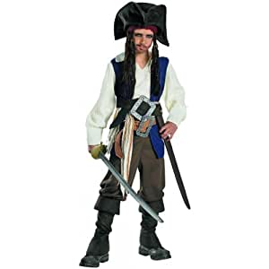 Child Deluxe Captain Jack Sparrow Costume