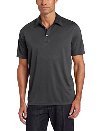John Henry Men's Short Sleeve Nailshead Poly Polo
