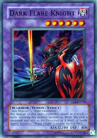 YuGiOh Dark Revelation 1 Single Card Dark Flare Knight DR1-EN179 Super Rare