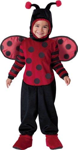 Incharacter Costumes, Llc Itty Bitty Lady Bug, Black/Red, Medium