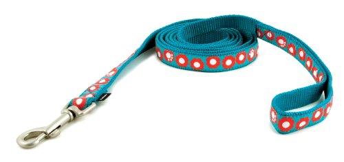 Petsafe Fido Finery Dog Leash, 3/4-Inch By 6-Foot, Teal My Heart