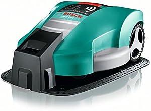 Bosch HomeSeries Indego 1000 Connect Mähroboter, 200m Begrenzungsdraht, 400 Befestigungshaken, Ladestation, 4 Befestigungsnägel, 2 Kabelverbindungen, Netzteil, Karton, 2 Lineale am Karton