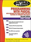 img - for Schaum's Outline of Theory and Problems of Programming With Pascal (Schaum's Outline Series in Computers) book / textbook / text book