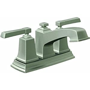 "Moen 84800 Bathroom Faucet with 4"" Centers and Drain Assembly from the Boardwalk, Spot Resist Brushed Nickel"