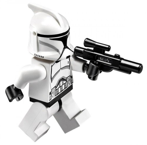 LEGO Star Wars LOOSE Minifigure EPII Clone Trooper with Blaster - 1