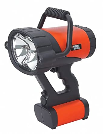 Black & Decker VEC158BD Rechargeable Spotlight
