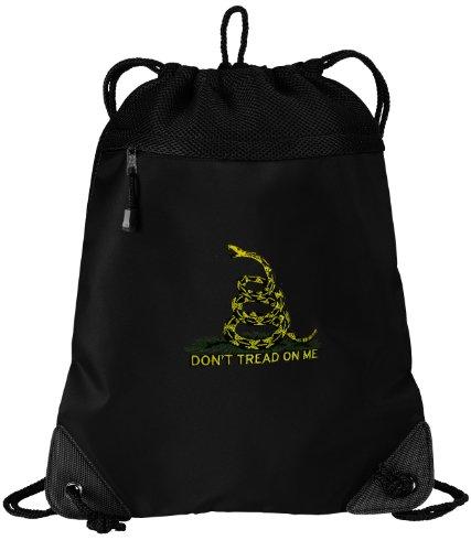 Don'T Tread On Me Drawstring Bag String Backpack Tea Party Flag Drawstring Bags