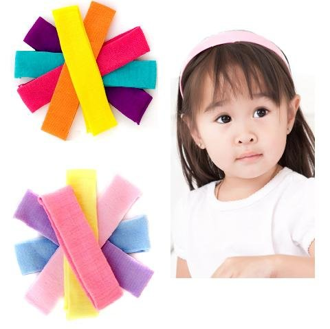 14 baby & girls Nylon Headbands 1