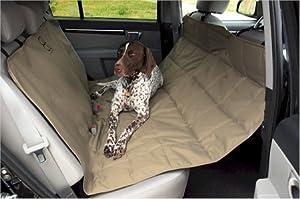 Petego Hammock Car Seat Pet Protector, Tan
