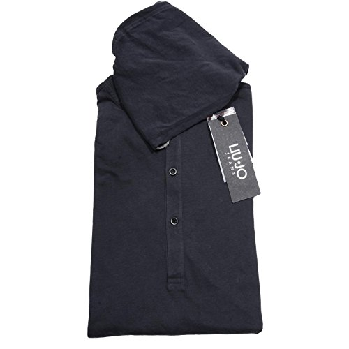 55884 felpa LIU JO T-SHIRT blu maglia uomo sweatshirt men [XXL]