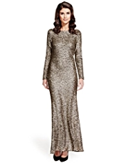 Per Una Speziale Sequin Embellished Maxi Dress