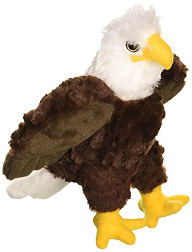 "Wild Republic CK-Mini Bald Eagle 8"" Animal Plush"
