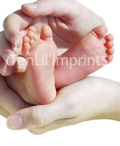 Baby-Safe Inkless Footprint Kit