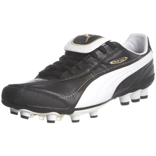 Puma Men's King Xl Synth. Grass Hg Black/White/Gold Indoor Trainer 101588-01 11 UK