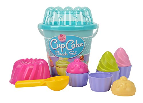 Cup Cake - Set Secchiello Spiaggia, Assortito