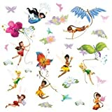 DISNEY FAIRIES DECALS (Pkg of 3)