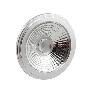 Rayshop - Dimmable Ar111 E27 10W Cob 1000Lm 3000K Warm White Led Spot Lamp Light(Ac100-130V)