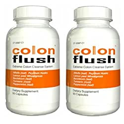 Funny product Colon Flush Internal Cleanse Formula, 60 caps (2 BOTTLES)