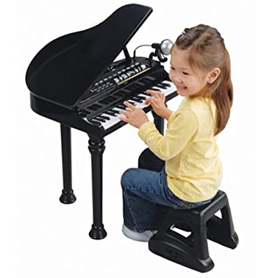Electronic Grand Piano w/ microphone and more
