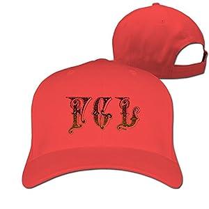 Adult Fgl Florida Georgia Line Cotton Adjustable Peaked Baseball Cap Red