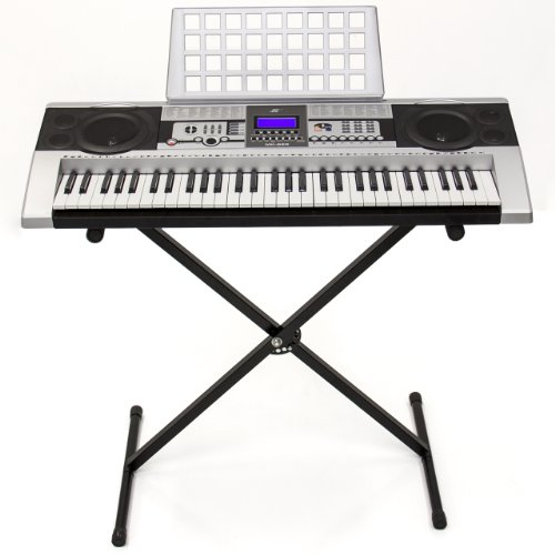 cheap price 61 key electronic music keyboard electronic piano with stand portable electronic. Black Bedroom Furniture Sets. Home Design Ideas
