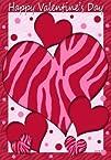 Happy Valentines Day Polka Dot Zebra…