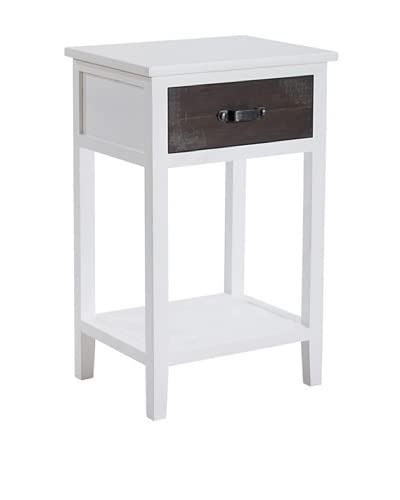 Gallerie Décor Adirondack Accent Table, White