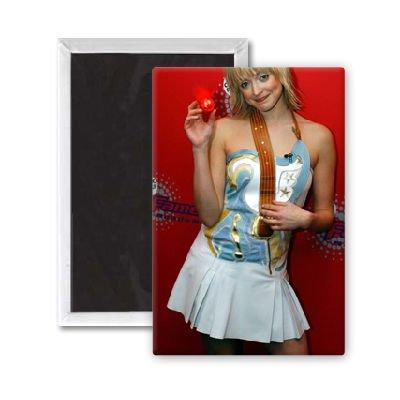 Fearne Cotton - 3x2 inch Fridge Magnet - large magnetic button - Magnet