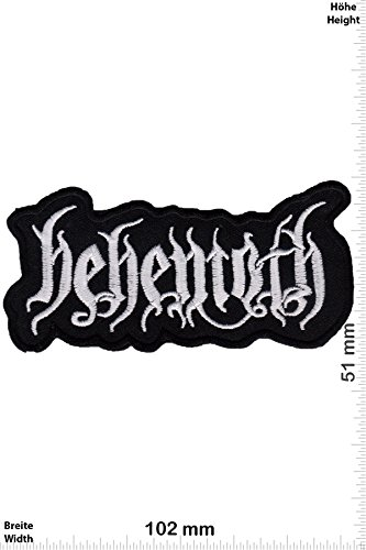 Patch - behemoth - Death Metal - Musicpatch - Rock - Vest - Iron on Patch - toppa - applicazione - Ricamato termo-adesivo - Give Away