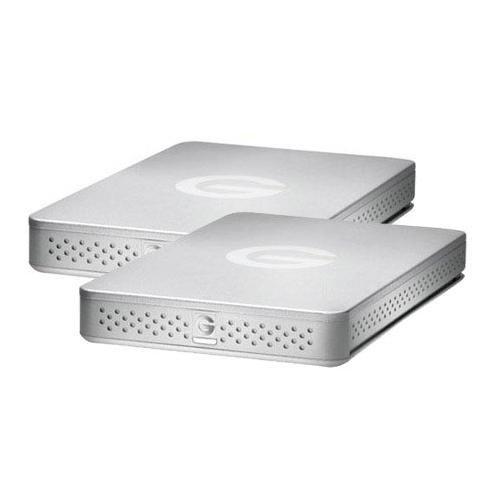 G-Technology 1Tb G-Drive Portable Usb 3.0 Hard Drive For G-Dock Ev - 2-Pack