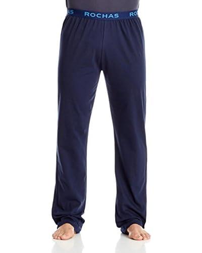Rochas Pantalón de Pijama Azul