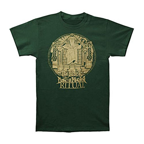 Greucy-darkBlack Dahlia Murder Men's Ritual Stamp T-shirt Green