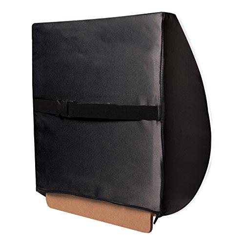 vivi relax a bac premium lumbar back support swivel seat cushion car comfort kit black tan. Black Bedroom Furniture Sets. Home Design Ideas