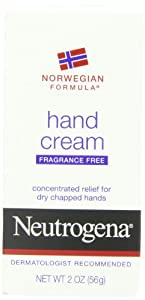 Neutrogena Norwegian Formula Hand Cream, Fragrance-Free, 2 Ounce (Pack of 6)