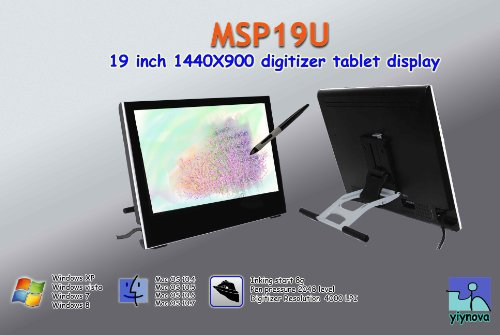Yiynova MSP19U Tablet Monitor(LED back light),VESA Stand(Mac Solution)
