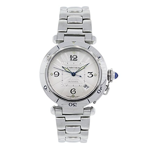 cartier-pasha-swiss-automatic-silver-unisex-adult-watch-w31040h3-certified-pre-owned