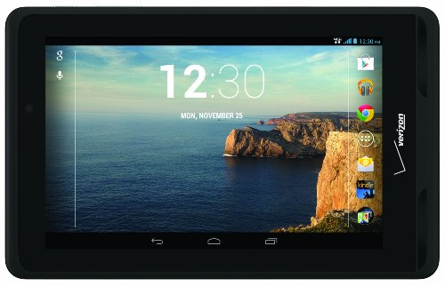 Verizon Ellipsis 7 4G Lte Tablet, Black 7-Inch 8Gb (Verizon Wireless)