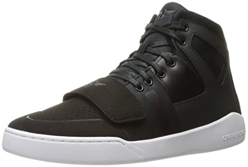Creative Recreation Men's Manzo Fashion Sneaker, Black, 13 M US