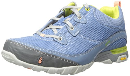 Ahnu Women's Sugarpine Air Mesh Hiking Shoe, Polar Sky, 5 M US