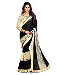 Sourbh Sarees Faux Georgette Saree - B00VTOY3WC