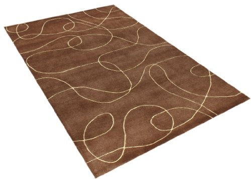 Alliyah Rugs Alliyah Rug, Brown/Camel, 9' x 12'