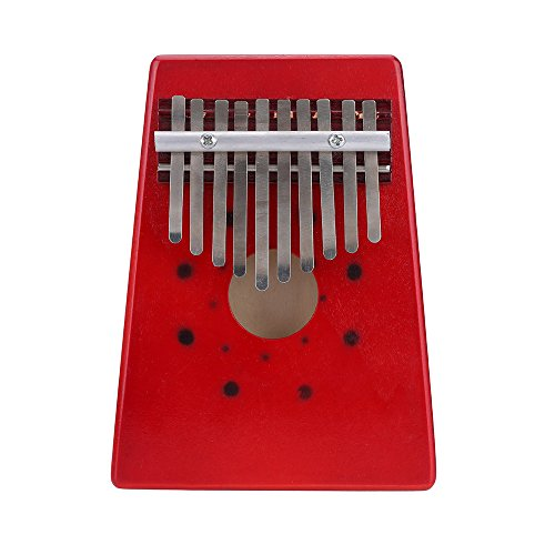 Andoer 10 Keys Birch Finger Thumb Piano Mbira